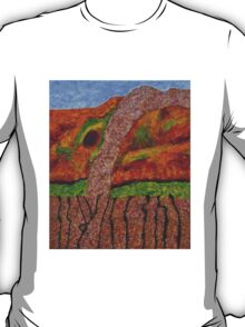 021 Abstract Landscape T-Shirt