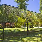 mirror installation. Gulbenkian art centre. by terezadelpilar~ art & architecture