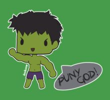 Hulk Chibi - Puny God! Kids Clothes