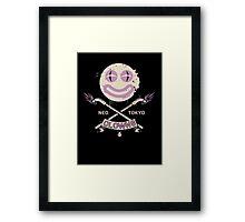Neo Tokyo Clowns Framed Print