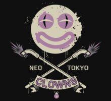 Neo Tokyo Clowns by GordonBDesigns