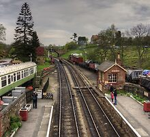 Goathland Railway Station by Tom Gomez