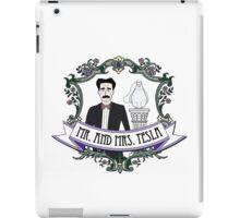 Mr. And Mrs. Tesla iPad Case/Skin