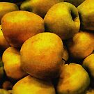 Golden Renaissance Apples by RC deWinter