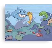Ocean Shenanigans  Canvas Print