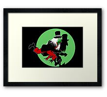 The Peppermint Nightmare Framed Print