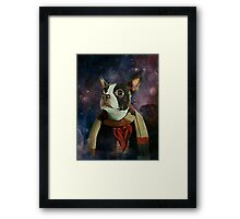 THE 4TH DOGTOR Framed Print