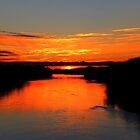 Sunrise on the Assiniboine by Larry Trupp