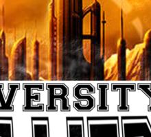 University of Gallifrey Sticker