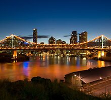 Storey Bridge at Twilight by MichaelJP