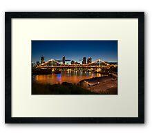 Storey Bridge at Twilight Framed Print