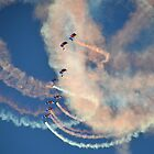 Raf Falcons Air Display by lynn carter