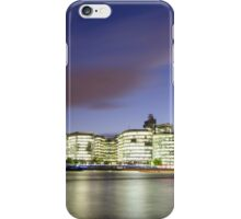 London Thames Cityscape at Sunset iPhone Case/Skin