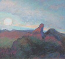 LOOKING INTO THE SUN by Glenn Johnson