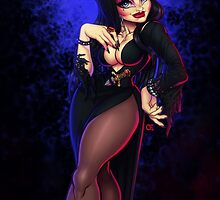Elvira Mistress of Darkness by Gunkiss