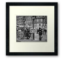 Parisian Love Framed Print