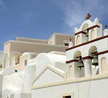 Architecture in Oia, Santorini, Greek Islands by avresa