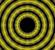 In Circles (Yellow Version) by Roz Barron Abellera