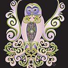 Owl Love Nest by Jill Sanders