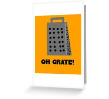 Oh, Grate Greeting Card