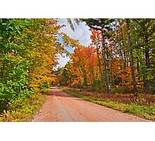 Fall in Wisconsin Photographic Print