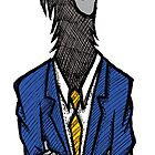 Crow in a Suit by Brett Gilbert