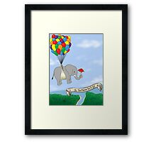 OH TO EXPLORE! Framed Print