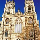 Yorkminster, England by Margaret  Hyde