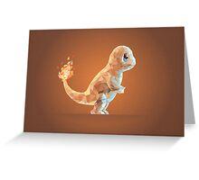 Porymon Charmander | Pokemon Greeting Card