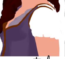 Our Brave Belle Sticker