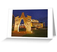 Evening at the Hungarian National Theatre Greeting Card