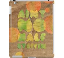 Ain't No Half Steppin - Big Daddy Kane iPad Case/Skin