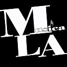 Musica L.A. black logo by Larry3