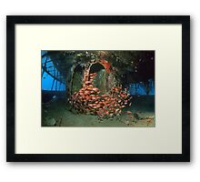Lesleen M - Superstructure Framed Print