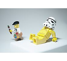 Lego Modern Art Photographic Print