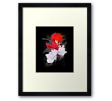 Death Stance Samurai Framed Print