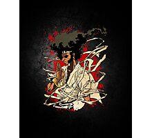 The Puffy Samurai Photographic Print