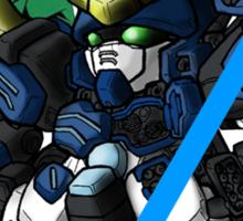 Trowa Barton and Gundam Heavyarms - Chibilette Sticker