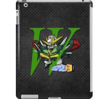 Chang Wufei and Altron Gundam - Chibilette iPad Case/Skin