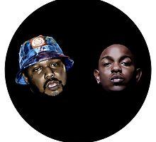 Q & King Kendrick by willowmcgrail