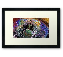 Galactic Conversation Framed Print
