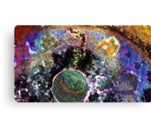 Galactic Conversation Canvas Print