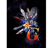 Mobile Fighter G Gundam - Shinning Gundam Photographic Print