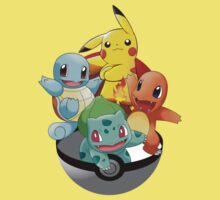 First Generation Pokemon Kids Clothes
