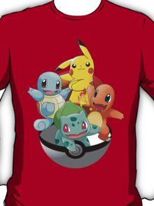 First Generation Pokemon T-Shirt