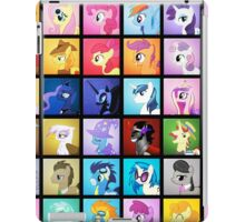 Pony Blocks iPad Case/Skin