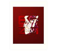 Fairy Tail - Erza Scarlet Art Print