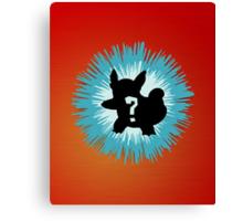 Who's that Pokemon - Wartortle Canvas Print