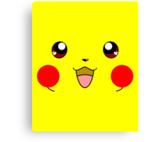 Eyes on Me - Pikachu Canvas Print