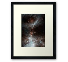 Black Galaxy Framed Print